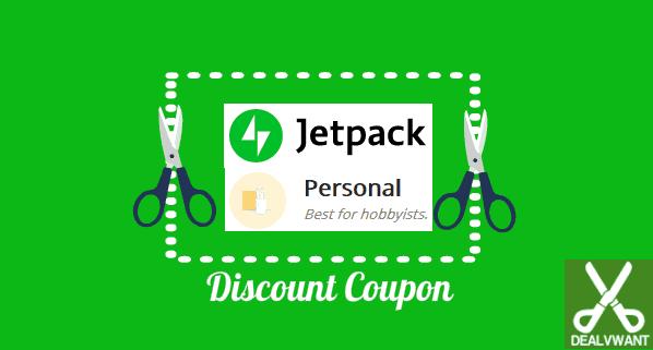 Jetpack personal plan coupon