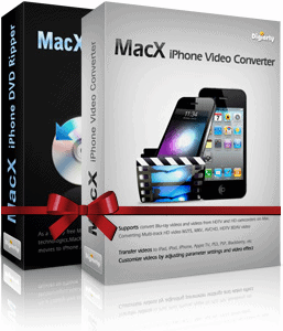 65% OFF MacX iPhone DVD Video Converter Pack