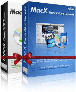 65% OFF MacX iTunes DVD Video Converter Pack