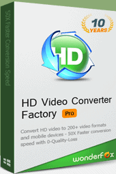 25% OFF WonderFox HD Video Converter Factory Pro Family license (Mother's Day Special Offer)