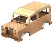 15% OFF – EnDTas Land Rover tot rod car bodyshell CAM files Offer