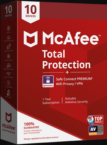 $100 OFF – McAfee Total Protection Discount (Back-to-School)