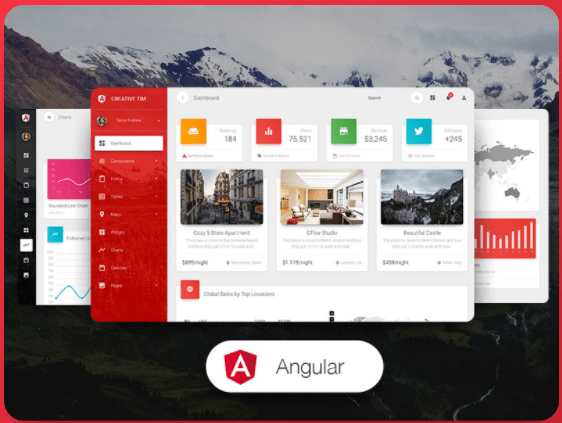 30% OFF – Creative-Tim Material Dashboard Pro Angular Offer Code